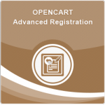 Opencart Advanced Registration