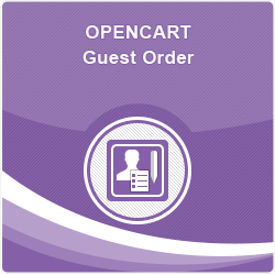 Opencart Guest Order
