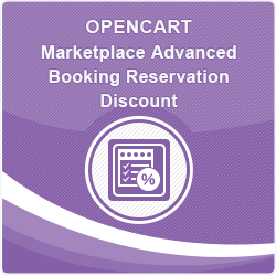 Opencart Marketplace Advanced Booking Reservation Discount