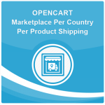 Opencart Marketplace Per Country Per Product Shipping