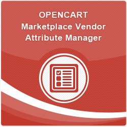 Opencart Marketplace Vendor Attribute Manager