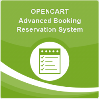 Opencart Advanced Booking Reservation System