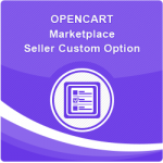 Opencart Marketplace Seller Custom Option