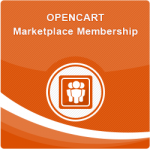 Opencart Marketplace Membership
