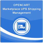 Opencart Marketplace UPS Shipping