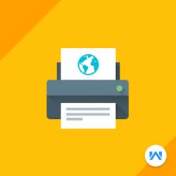 Opencart Web To Print